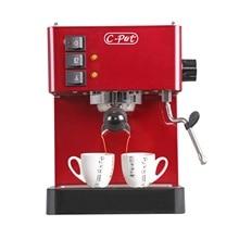 Gemilai Household Coffee Machine Stainless Steel Kitchen Appliances Semi-automatic Pump Pressure Coffee Maker