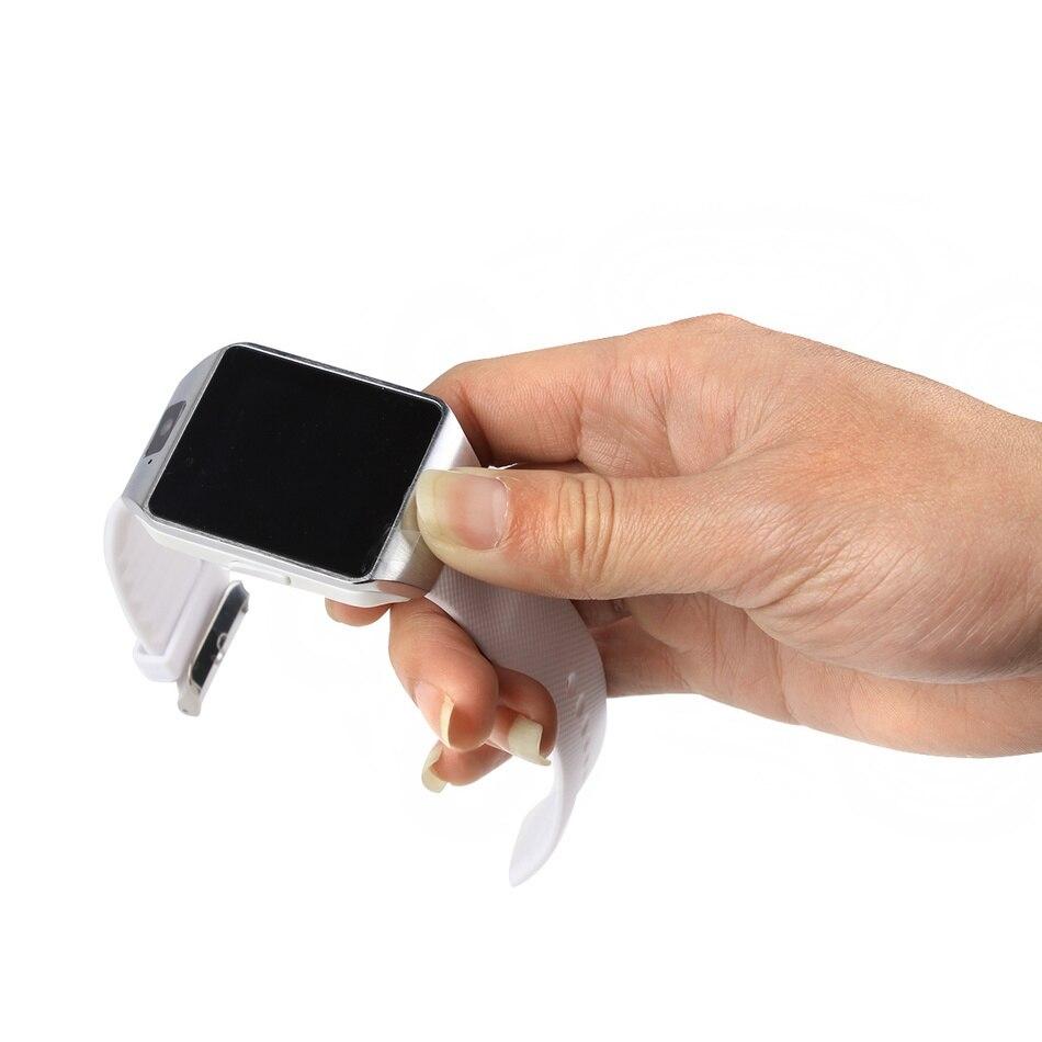 imágenes para Solgo usable dispositivos dz09 smart watch apoyo sim tf tarjeta electrónica muñeca reloj teléfono para smartphone android smartwatch