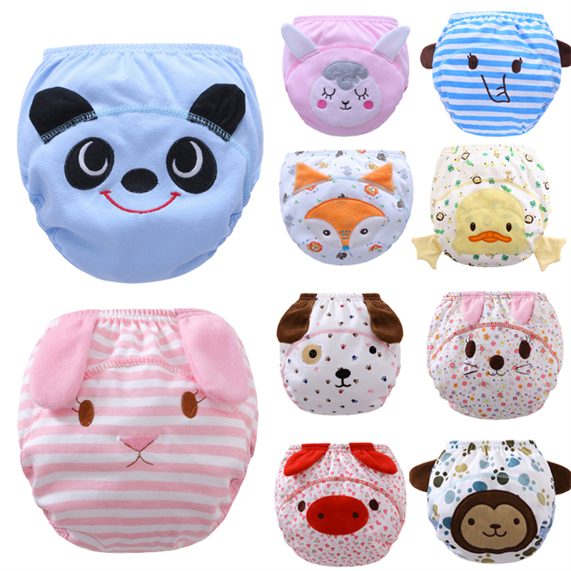 Cloth Diapers Baby Girl Diapers Reusable New Born Cloths Diapers Washable Boys Baby Training Pants 3PCS/LOT H-KBL011-3P