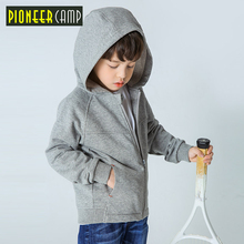 Pioneer Camp spring children clothing cardigan hooded