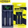 חדש Liitokala Lii-S2 כפול חריץ 18650 סוללה מטען 1.2 v 3.7 v 3.2 v AA/AAA 26650 21700 NiMH ליתיום סוללה חכם מטען
