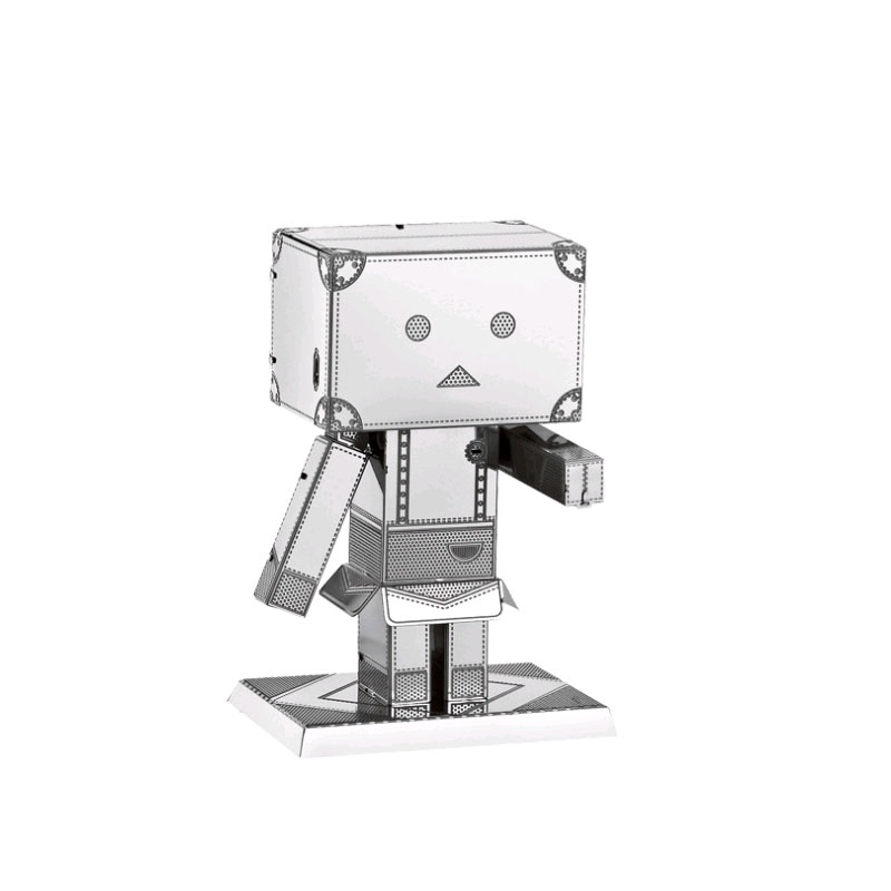 3D Metal Model Jigsaw Carton People DIY Children's Toy Model Kit Jigsaw Puzzle Adult Children Education Collection Holiday Gift
