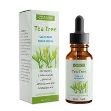 30 мл чай дерево масло увлажняющее анти-акне противовоспалительное для осветления кожи уход за лицом эфирное масло