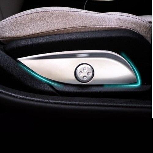Hotsale ABS Chrome Siège Ajuster Commutateur Bouton Panneau De Couverture Garniture Pour Mercedes Benz GLC/CLS/E/C classe W205 W212 W213 Voiture Accessoires