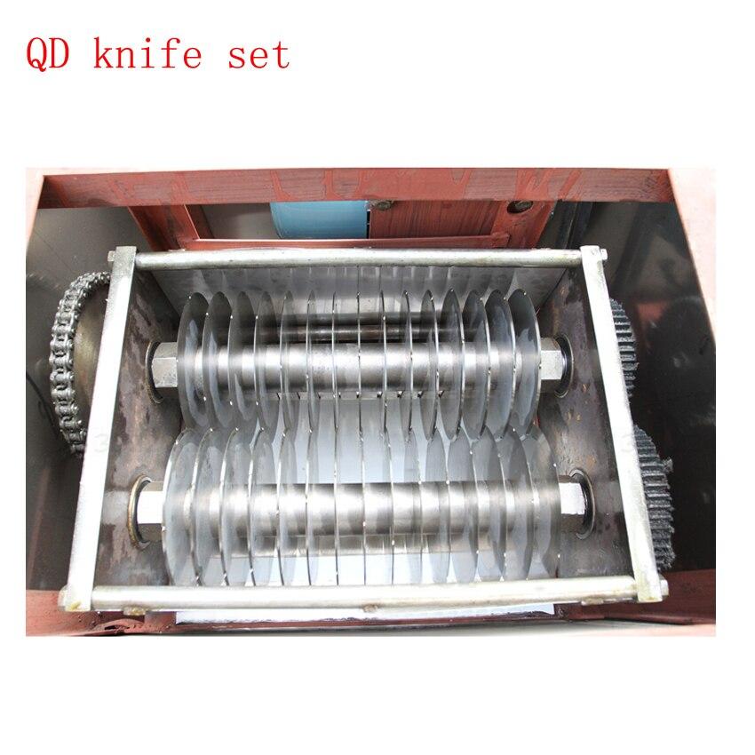 1500 Kg/hr Lebensmittel Schneiden Maschine Für Fleisch 2-20mm Klinge Fleisch Cutter Für Fleisch Verarbeitung Anlage Ausrüstung