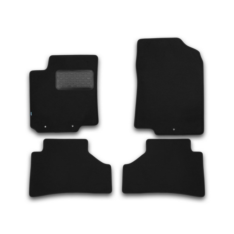 Mats in salon Klever Premium For KIA Rio 2011-2017, хб., сед... 4 PCs (textile) недорго, оригинальная цена