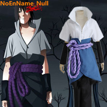 Japanese Anime font b NARUTO b font Uchiha Sasuke font b Cosplay b font Costumes Halloween