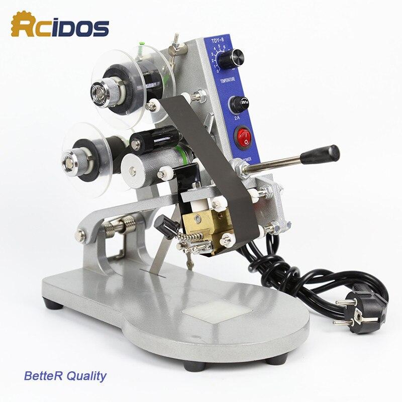 DY-8 Color Ribbon Hot Printing Machine, RCIDOS directe thermische - Kunsten, ambachten en naaien