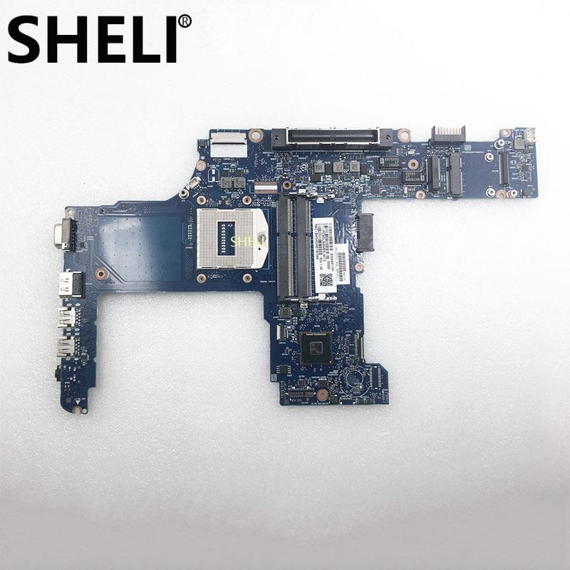 SHELI HP 744007 601 744007 501 ProBook 640 G1 650 G1 シリーズマザーボード 744007 001 6050A2566302 メインボード 100% ワーク Ok -