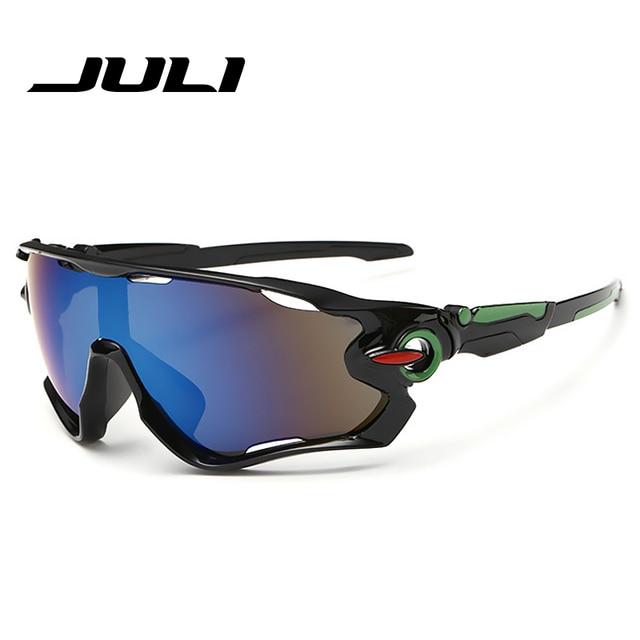 421ed938dd7030 JULI Marque Nouveau Voyage lunettes de Soleil Hommes Vitesse De Patinage  lunettes de Soleil Conduite protection