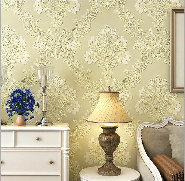 IVY MORDEN 3D Damascus Wallpaper for Walls Printed Floral Luxury ...
