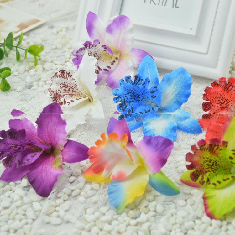Aliexpress buy artificial flowers good simulation flower silk aliexpress buy artificial flowers good simulation flower silk flower arrangement of dried flowers butterfly orchid thai orchid hat headdress di from mightylinksfo