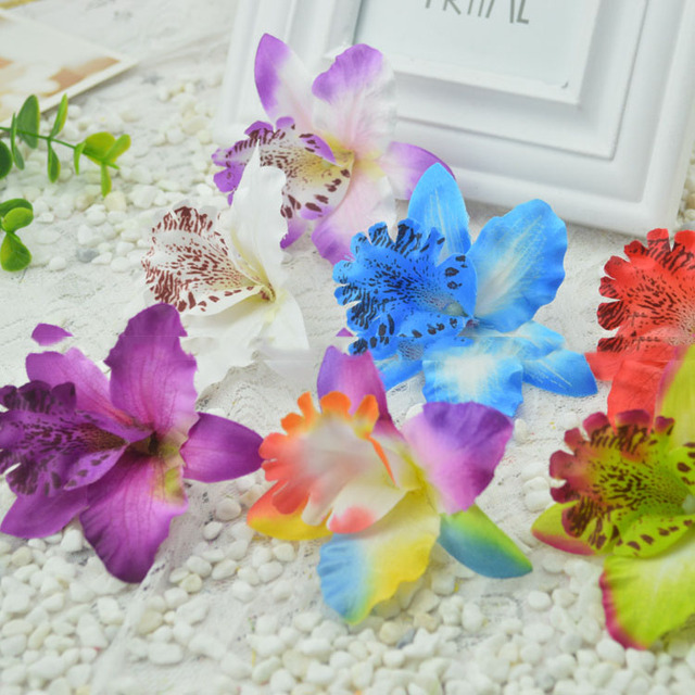 Aliexpress buy artificial flowers good simulation flower silk artificial flowers good simulation flower silk flower arrangement of dried flowers butterfly orchid thai orchid hat mightylinksfo