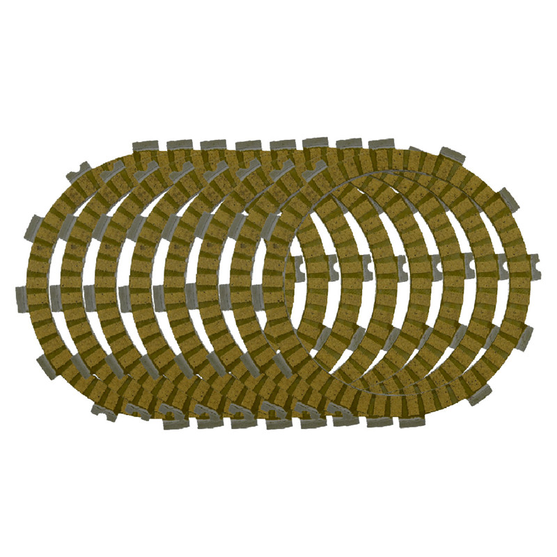 Motorcycle Clutch Friction Plates Set for HONDA CR500R CR500 R 1984-1989 Clutch Lining #CP-00037