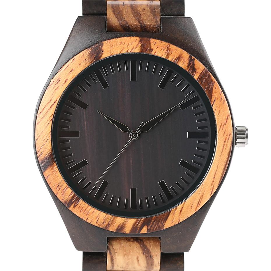 YISUYA Luxury Wooden Watches for Men Vintage Analog Quartz Handmade Walnut Zebra Bamboo Wood Band Wristwatch Clock Christmas Gifts Reloj  (9)