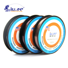 Free shipping fluor carbon line carp fishing line 150 mt of colorful winter Super Glatt carbon manual fly fishing line pesca