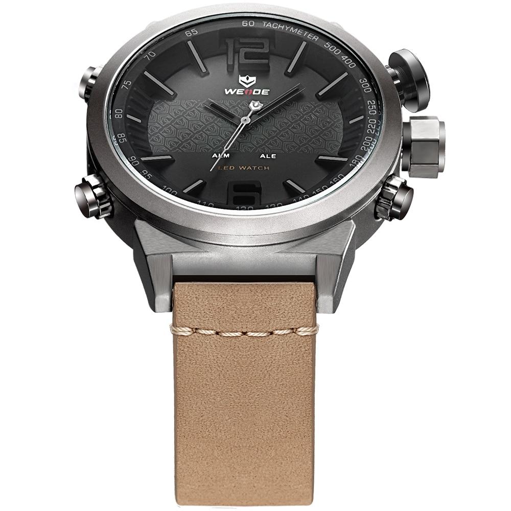 Weide Brand 2017 Nuevos Hombres Calientes Relojes Deportivos LED - Relojes para hombres - foto 3