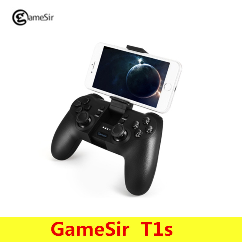 Origianl GameSir T1s Bluetooth 2.4GHz Wireless Gaming Controller Gamepad for Android/Windows/VR/TV Box/PS3 2018 rushed new s925 pure antique mosaic and tian yu magpie lotus flower tassel sweater chain pendant wholesale