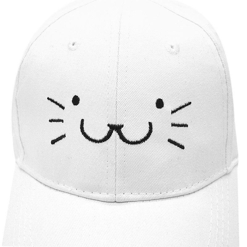 901a95bad New Cute Kids Cat Baseball Cap Girls Embroidery Snapback Caps Cotton Sun  Hat Baby Boy Outdoor Summer Casual Cartoon Children Cap-in Baseball Caps  from Men's ...