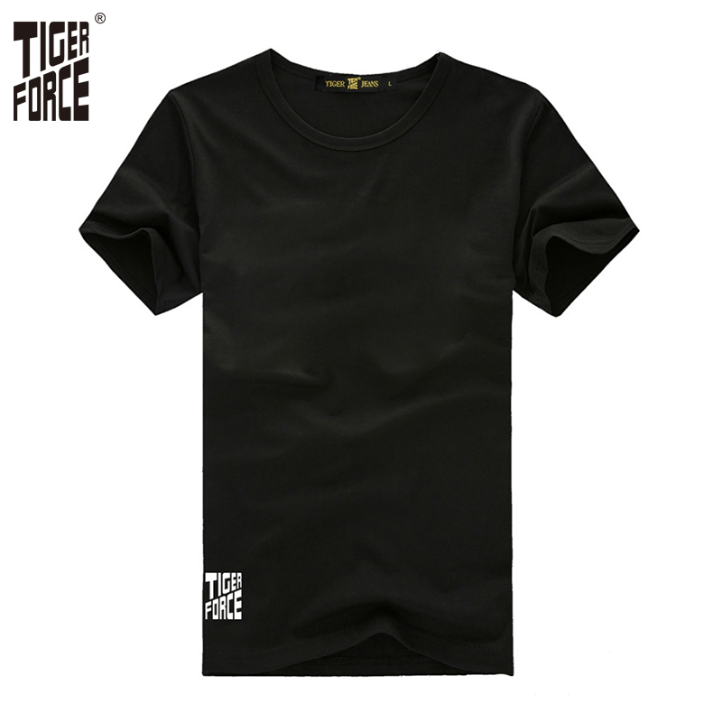 Tiger force 2017 european size fashion t shirt men 95 for Cotton and elastane t shirts