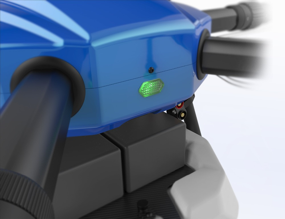 Oyuncaklar ve Hobi Ürünleri'ten Parçalar ve Aksesuarlar'de EFT E610 10L Tarım püskürtme drone su geçirmez uçuş platformu 1400mm hexacopter çerçeve kiti X6 güç sistemleri'da  Grup 3