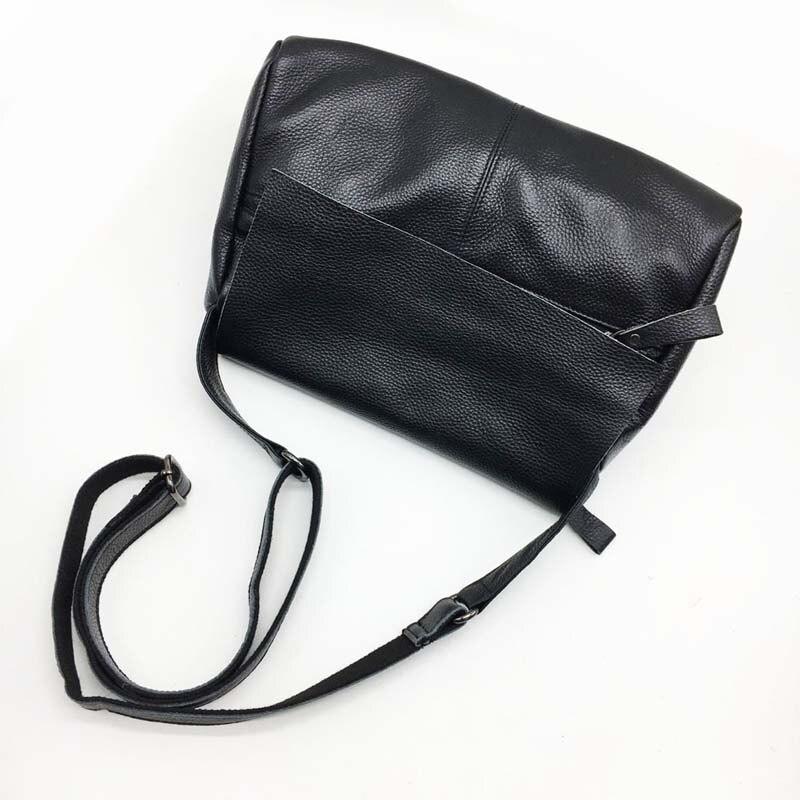 Korean Leather Female First Layer Leather Shoulder Messenger Bag