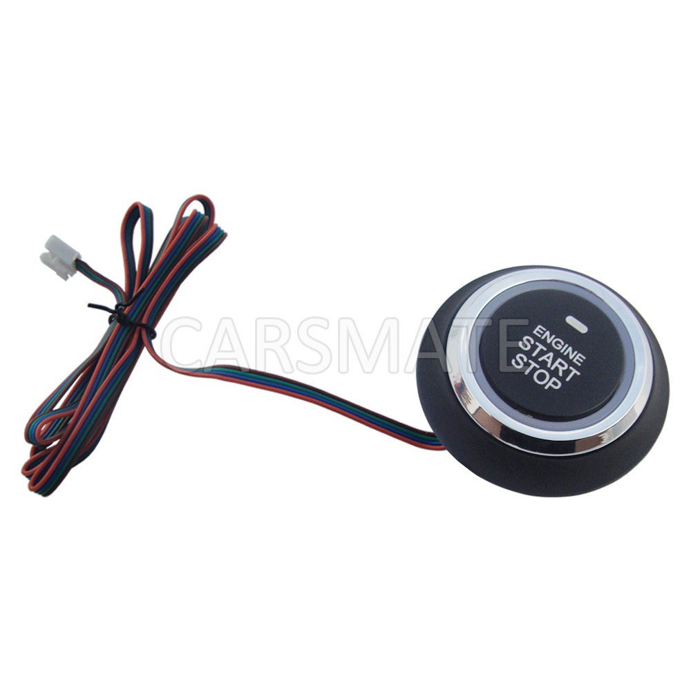 Push To Start Button Ignition: Universal Engine Push Start Stop Button Ignition Starter