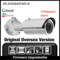 HIKVISION DS-2CD2642FWD-IS Versão Original Em Inglês 4MP Câmera Onvif POE IP Câmera de Segurança CCTV câmera de Rede P2P IPC H265 HIK