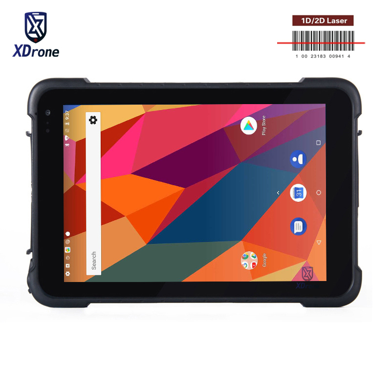 2019 Original KT86 IP67 Rugged Waterproof Tablets PC Android 8.1 1D 2D Laser Barcode 4G Mobile Data Collector PDA GPS 8500mAH