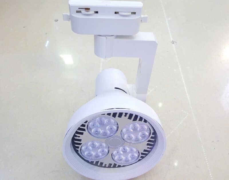 LED 35 ワットトラック照明スポットランパーダ AC 110 V 220 V 商業衣料品店スーパーマーケットホテルジュエリー装飾ホワイト Ce