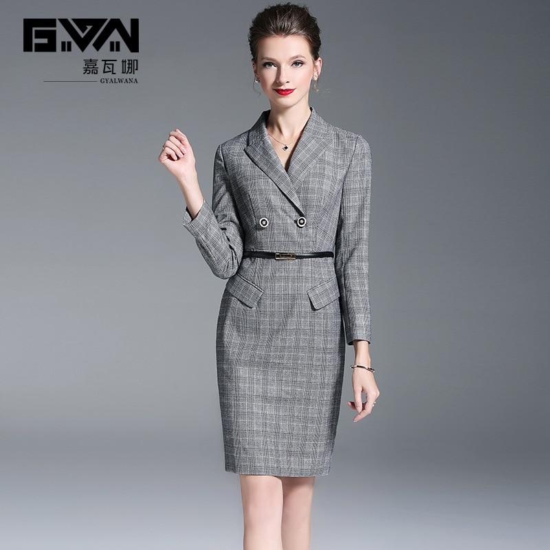 the best attitude 40111 74f54 Lady A Del L' Office Plaid Donne Femminile Della Cinghia ...