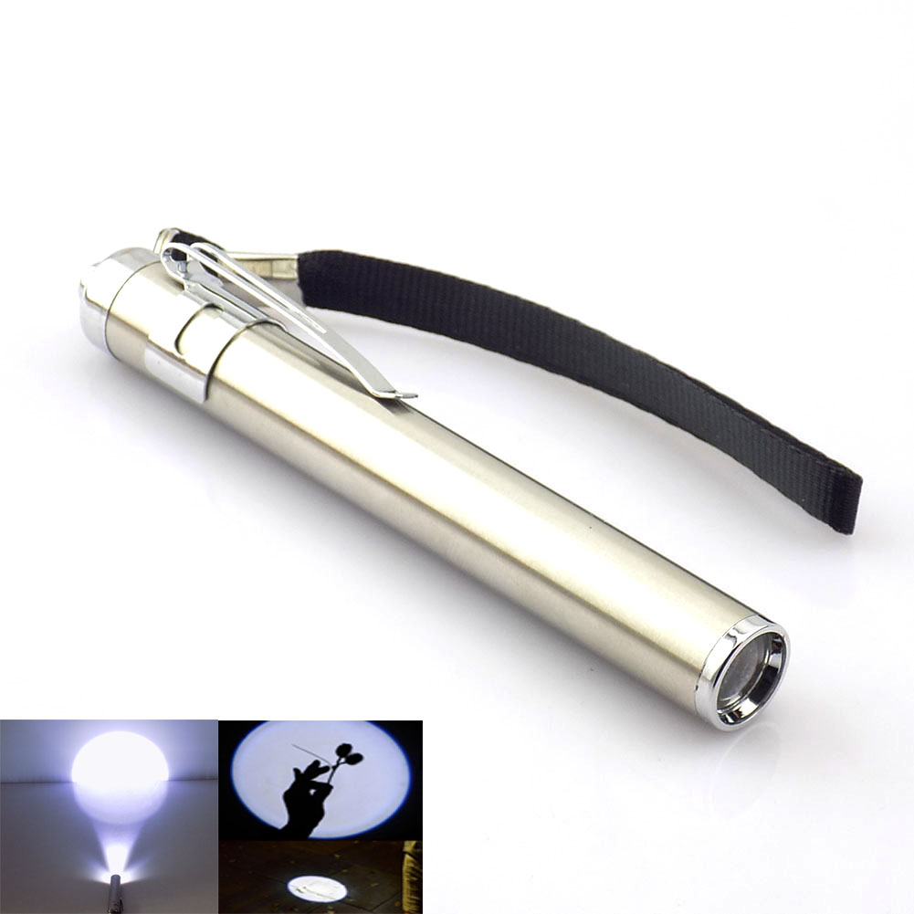 LED Lights Powerful Small Flashlight Portable Flash Light Penlight Mini Torch LED Lamp Little Pocket Lights Lantern AAA Battery