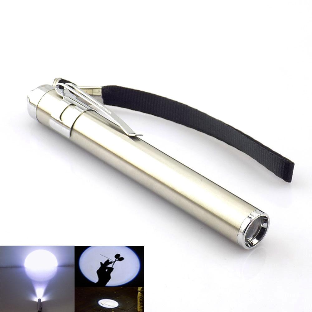 LED Lights Powerful Small Flashlight Portable Flash Light Penlight Mini Torch LED Lamp Little Pocket Lights Lantern AAA Battery