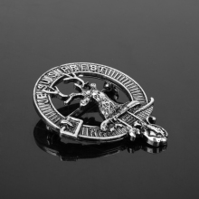 1 PC Outlander Deer Brooch Retro Style Cosplay Jewelry Men Women Accessories Brooches Lapel pins
