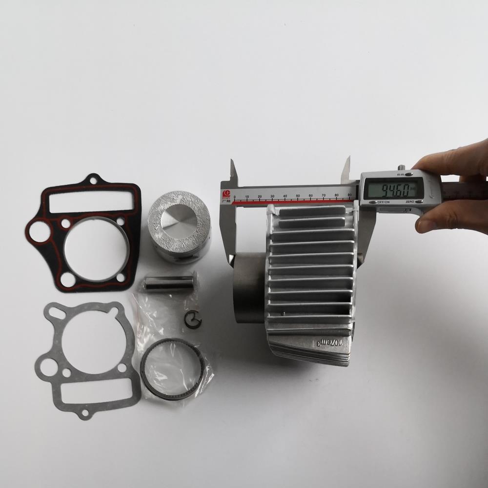 US $42 2 |54mm 125cc Aluminum Alloy big bore kit / Cylinder set for Dirt  Bike ATV Honda C100 C110 JH110 DY100 DY110 QJ110 9 ZS110 152FMH-in Pistons  &