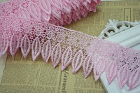 15 Yards Lot 9 Cm Leaf Spot Type Water Soluble Lace Embroidery Lace Wedding Textile Clothing