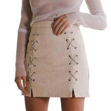 bd6ea69d02166b Suede Skirt Women Promotion-Achetez des Suede Skirt Women ...