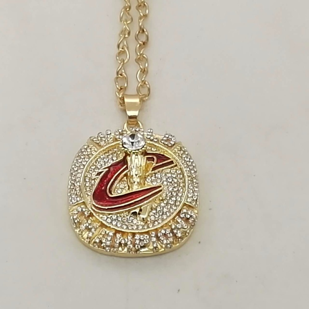 Wholesale Cleveland Cavaliers Championship necklace