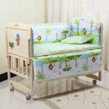 Animated Crib Bed Bumper For Newborns