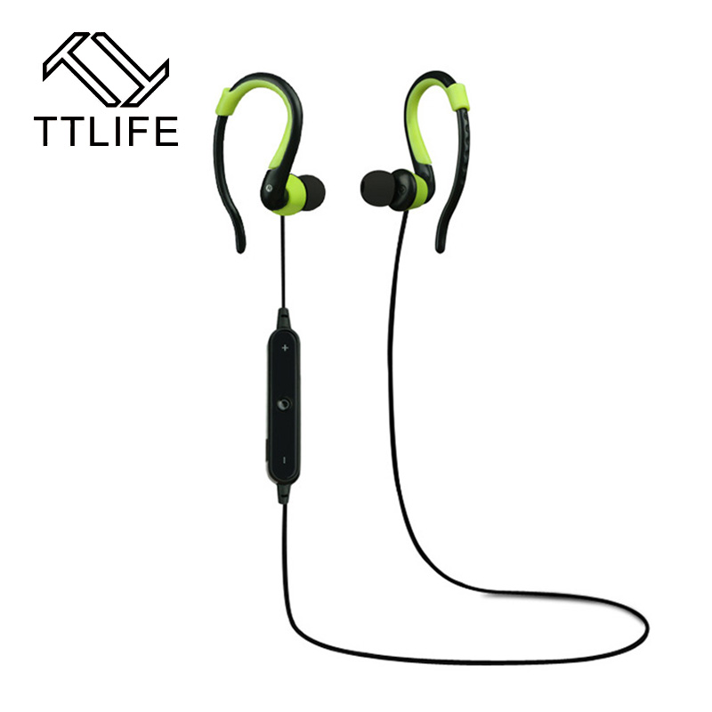 TTLIFE Sweatproof stereo Bluetooth 4.1 headphones Wireless sports earphones Handsfree with MIC Headset for iPhone 7 8 phones