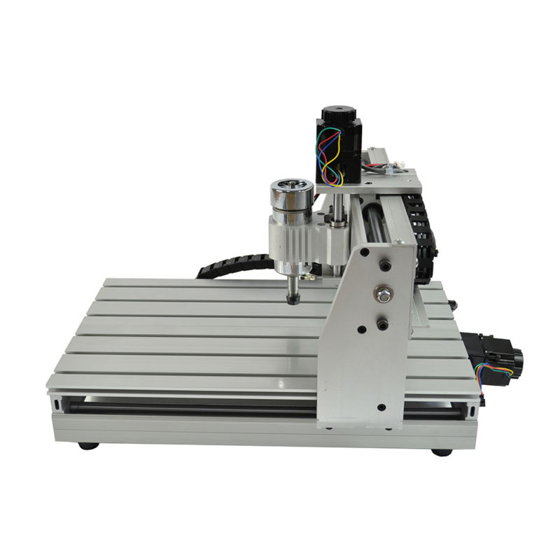 NEW CNC 3040 ROUTER ENGRAVER ENGRAVING DRILLING AND MILLING MACHINE  WITH 3 AXIS 4 axis cnc machine cnc 3040f drilling and milling engraver machine wood router with square line rail and wireless handwheel