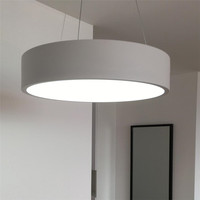 Nordic Led Circle Acrylic   Pendant     Light   For Dinning Living Room Rings Lustre   Pendant   Round Hanging Lamp Home   Light   Fixtures