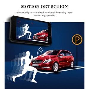 Image 4 - جهاز تسجيل فيديو رقمي للسيارات 2 كاميرات عدسة 4.0 بوصة HD داش عدسة كاميرا مزدوجة مع كاميرا الرؤية الخلفية مسجل فيديو السيارات المسجل DVRs داش كام