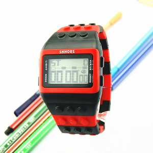 Fashion Unisex Women Men Watches Colorful Digital Wrist Watch High Quality Lovers Soft Silicone Sport Clock Creative Aug17