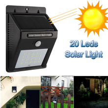 Outdoor Waterproof LED Solar Light 8 12 20 38 Motion Sensor Wireless