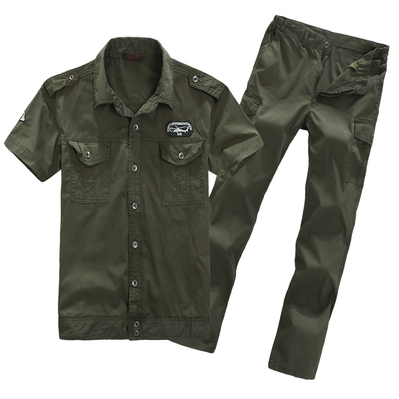 Mens Womens Outdoor Hunting Clothing Sport Flight Bomber Tactical Suits Overalls Jacket+pants Cotton Army Military Uniforms Set outdoor angel army fans military clothing camouflage suit wear cotton uniforms work service tactical training set jacket pants