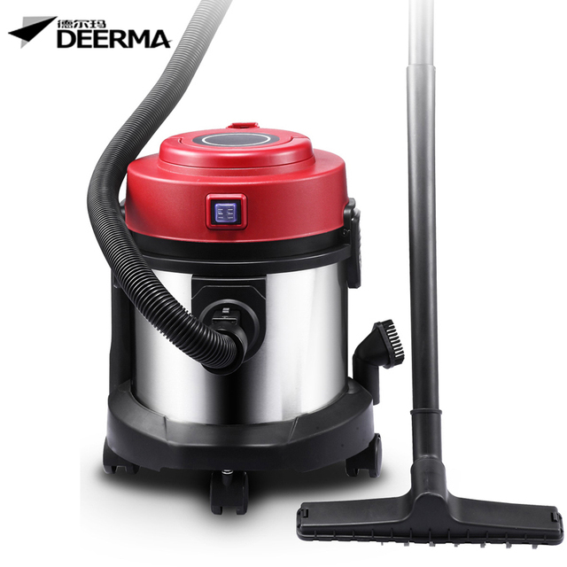 Household Ultra Quiet Vacuum Cleaner Drum Wet And Dry High Capacity Strong Suction Brush