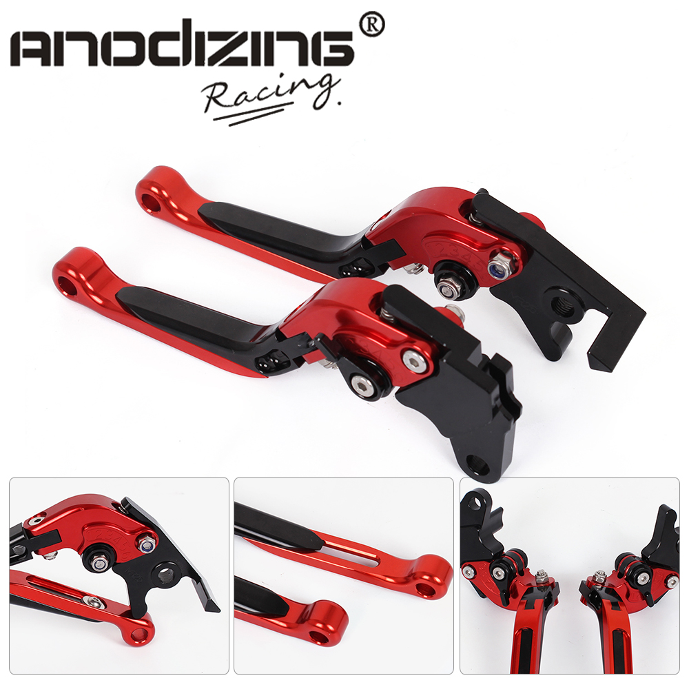 MR25 R15-L Adjustable CNC 3D Extendable Folding Brake Clutch Levers  For Yamaha R125 2008-2014 adjustable long folding clutch brake levers for kawasaki z1000 07 08 09 10 11 12 13 14 15 z1000sx tourer 2012 2013 2014 2015