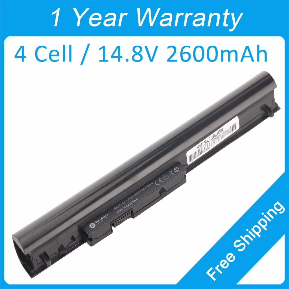 New 4 cell laptop battery for <font><b>hp</b></font> G14 <font><b>340</b></font> <font><b>G1</b></font> 350 <font><b>G1</b></font> 350 G2 G0R84PA G6G36PA 728461-001 F3B96AA HSTNN-YB5M TPN-Q130 LA04041 LA04 image