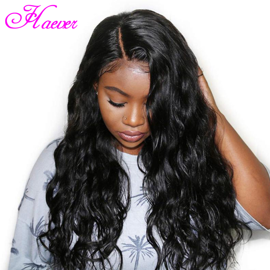 Haever Lace Front Human Hair Wigs Pre Plucked with Baby Hair Lace Front Wig Remy Brazilian Body Wave Lace Wigs for Black Women(China)
